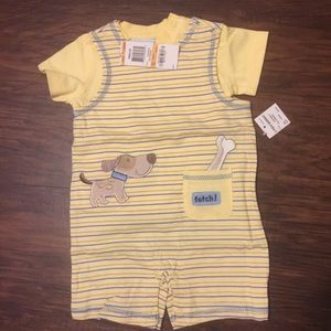 Baby Boys Two piece Romper set First Impressions